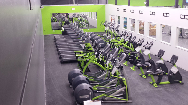 Why buy used exercise equipment for your health club hotel