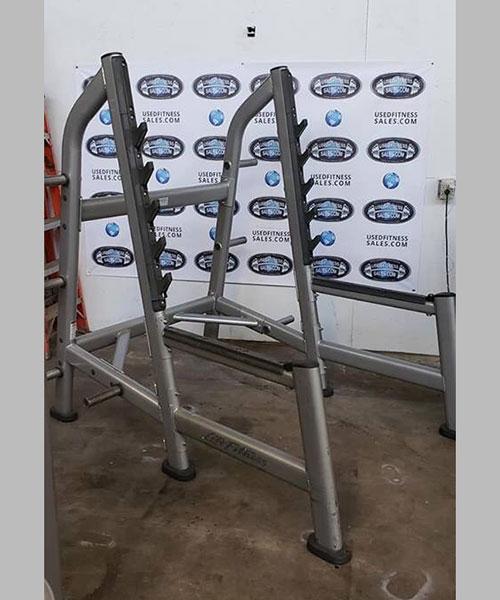 Used Squat Rack >> Life Fitness Signature Series Olympic Squat Rack Used Fitness Sales