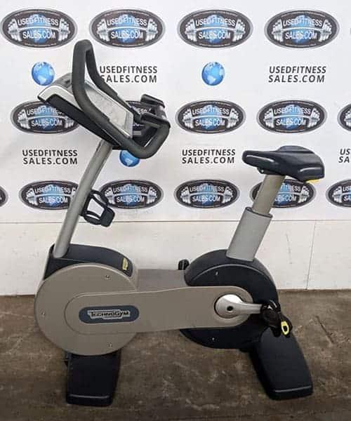 Technogym Excite 700 Upright Bike Used Fitness Sales