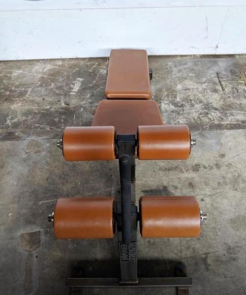 Hammer Strength Decline Sit-up Bench
